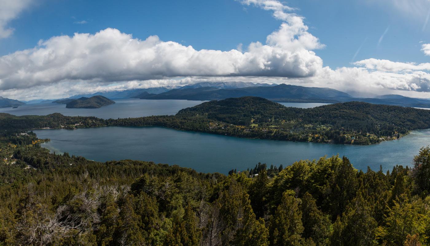 The view from Cerro Campanario