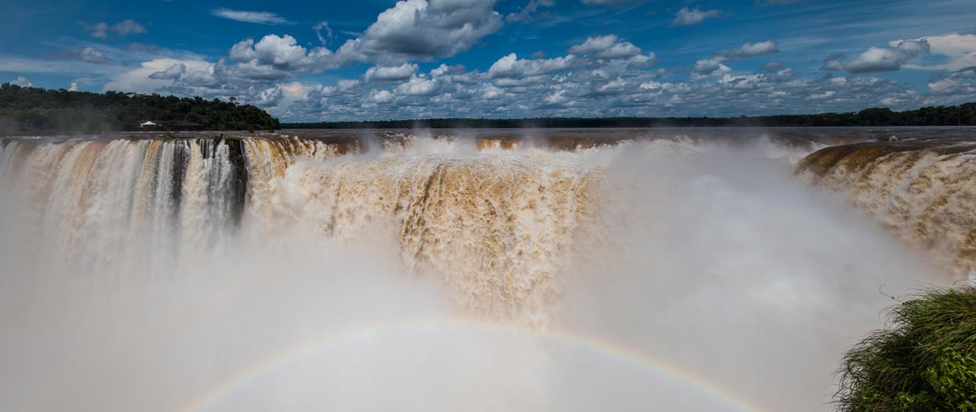 Rainbow, Iguazú Falls