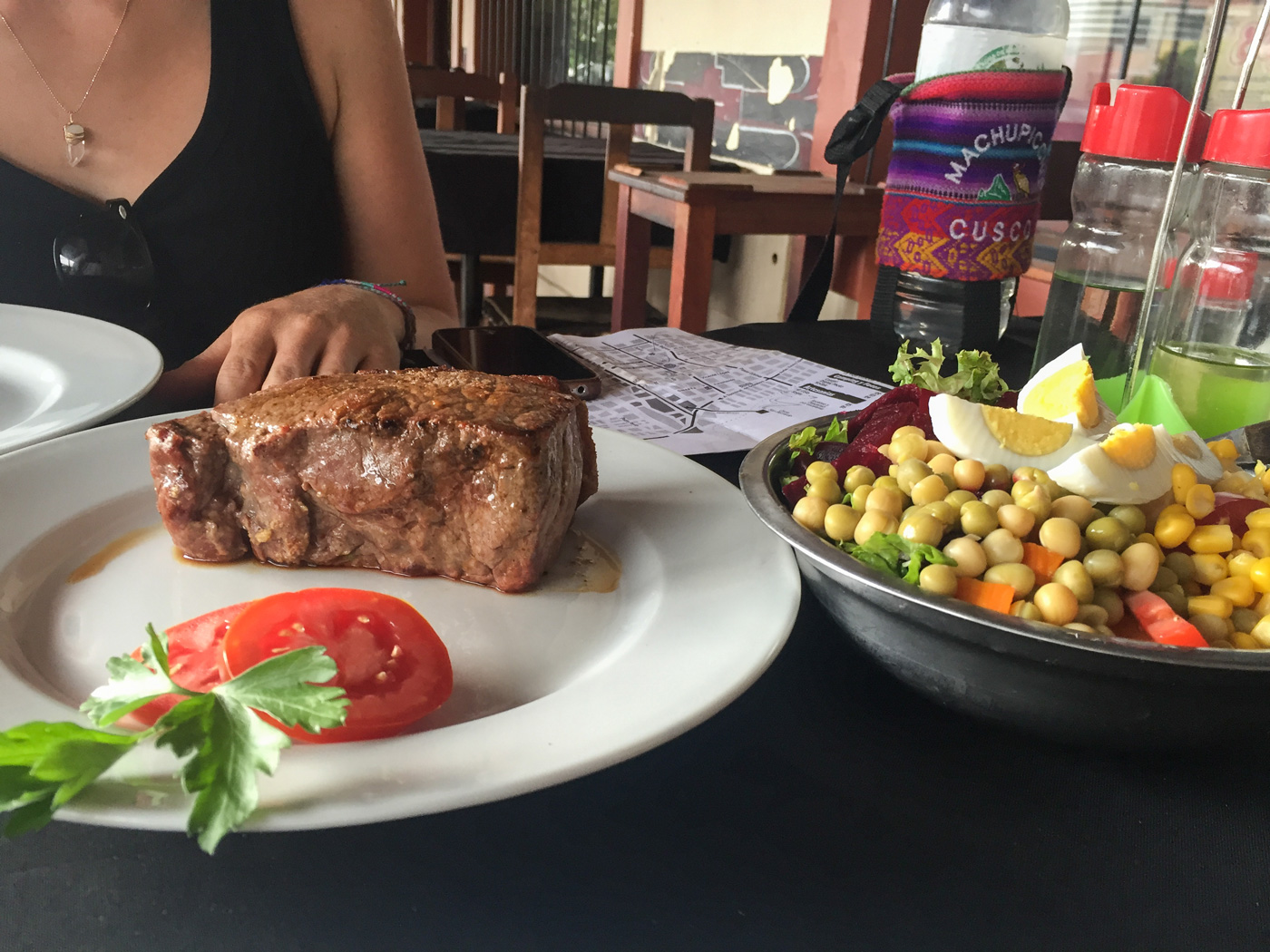 The first steak did not disappoint, and it was only $13 AUD!