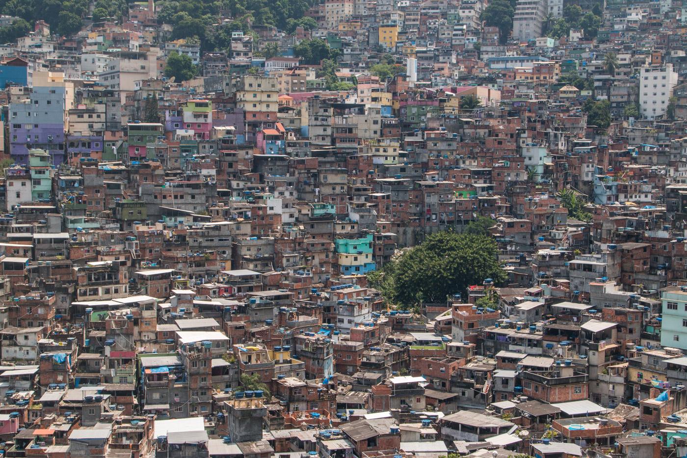 Rocinha, Brazil's largest favela