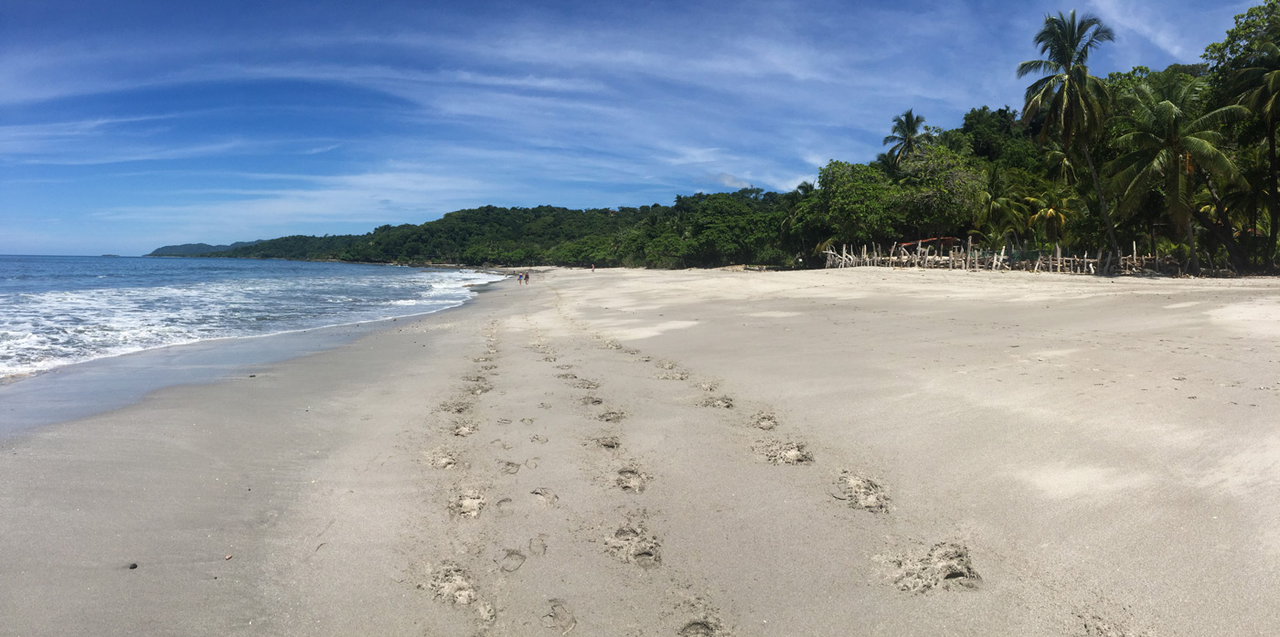 Costa Rican beaches living up to expectations