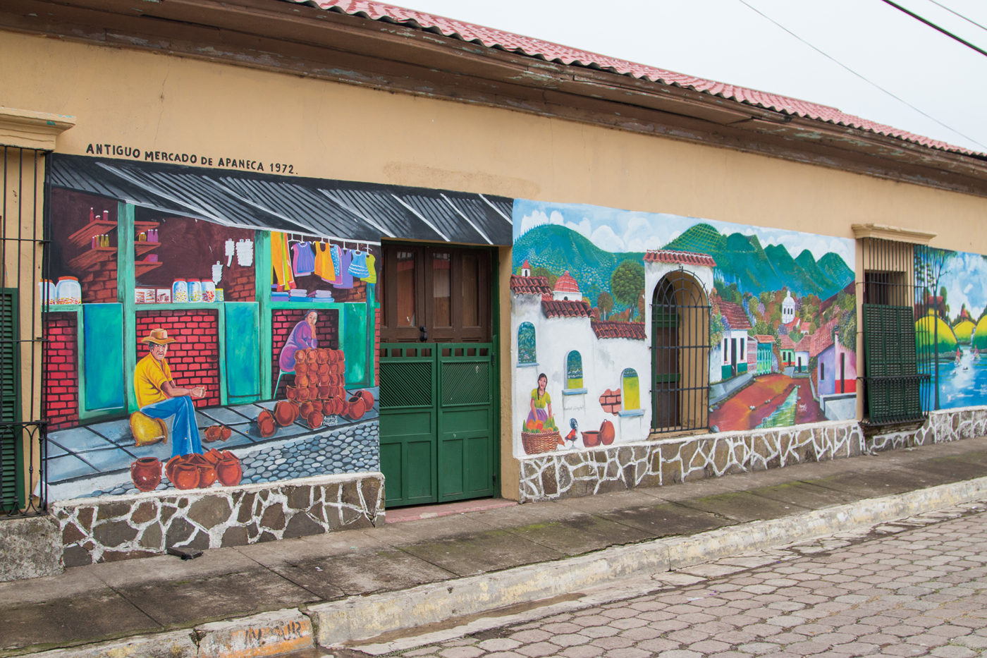 Painted murals