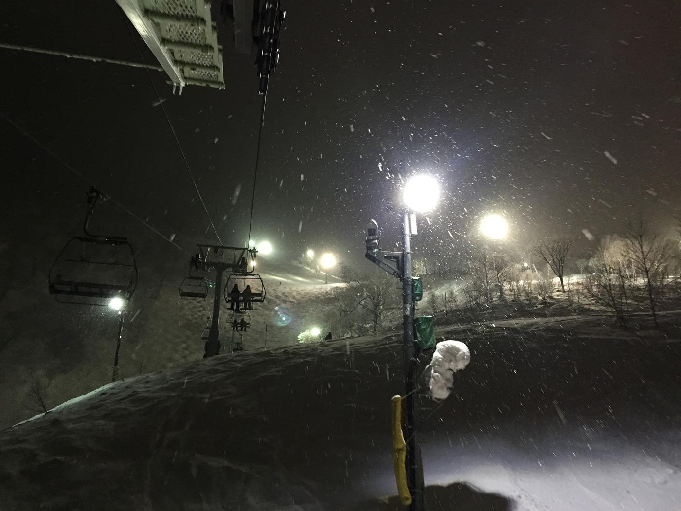 Hirafu by night