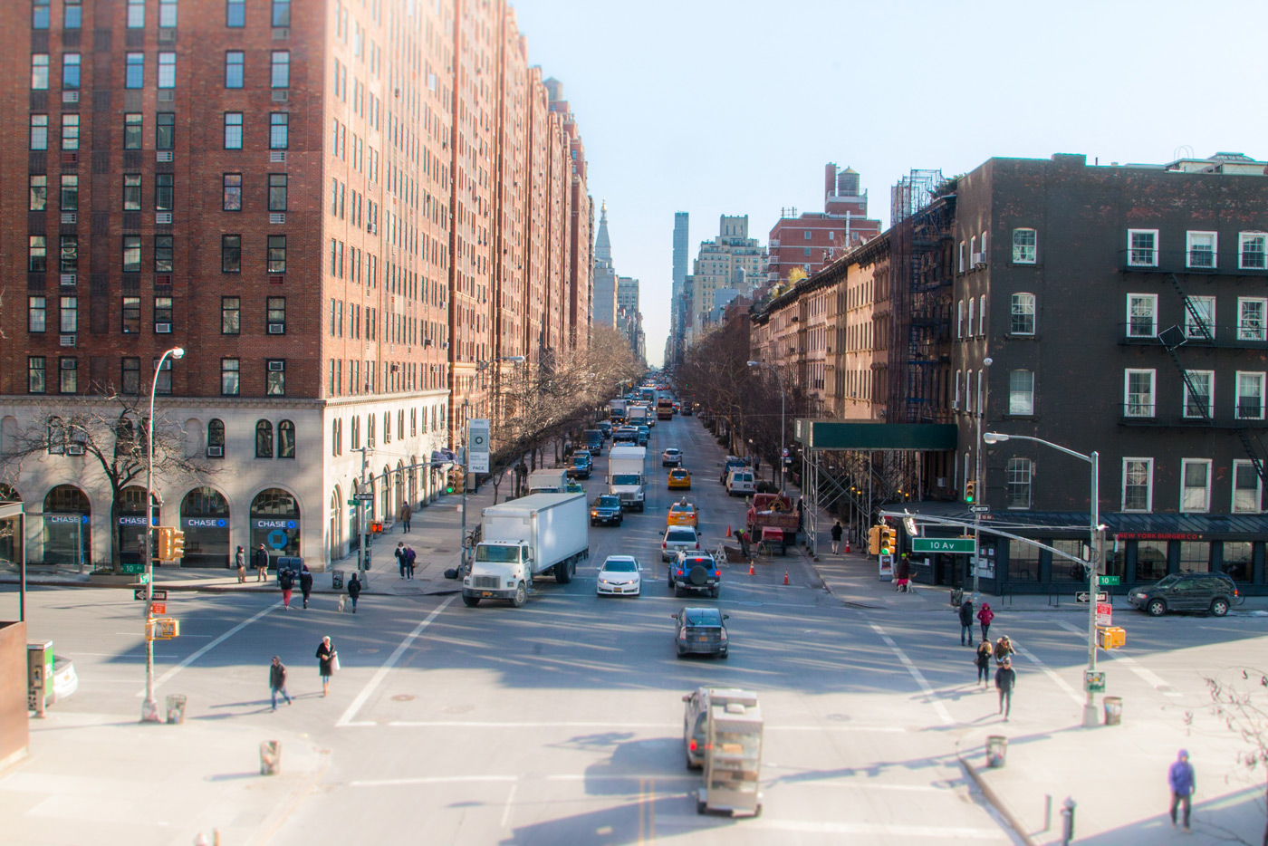 Chelsea streets