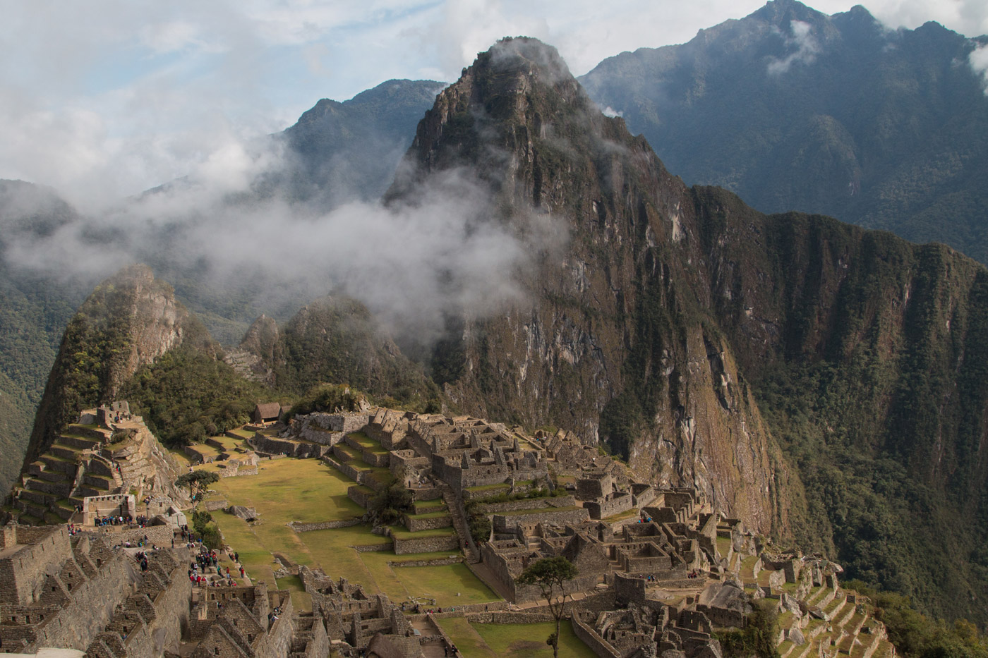 Postcard shot of Machu Picchu