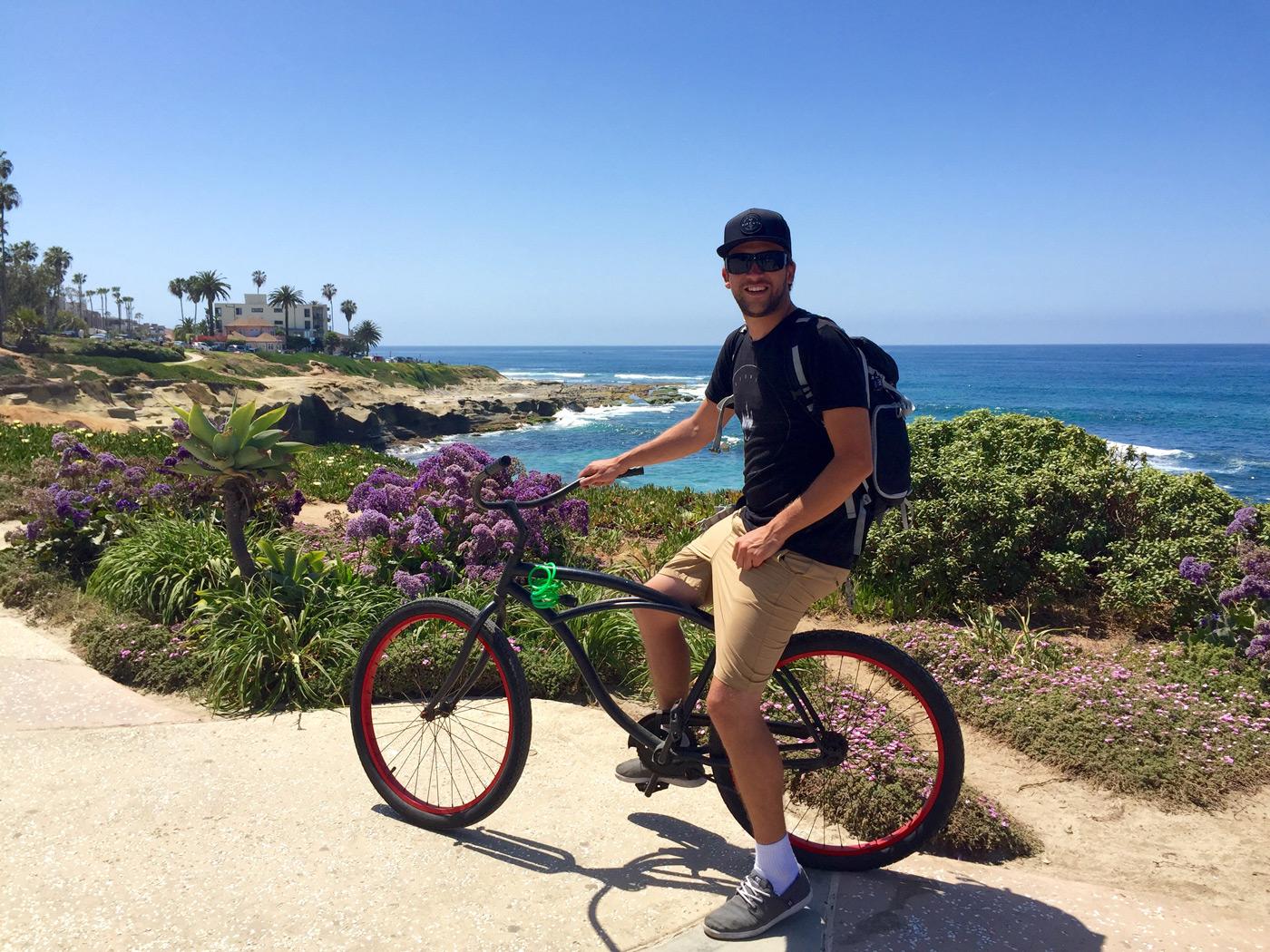 Exploring by bike
