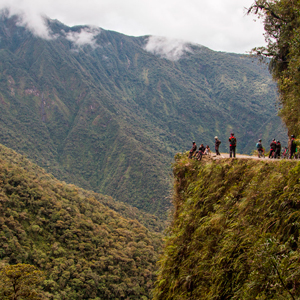 Bolivia - Amazon, salt flats & dangerous activities