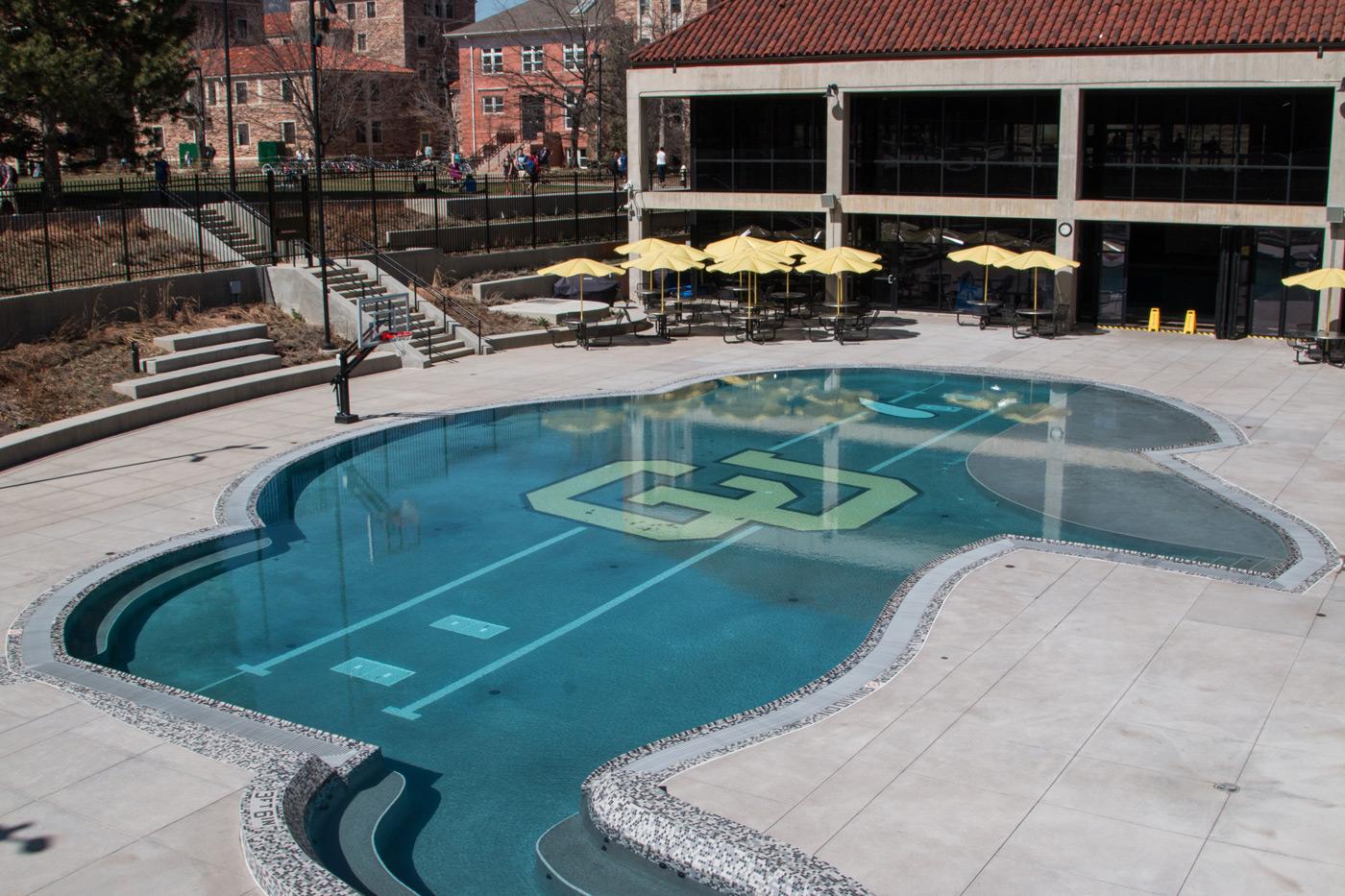 University of Colorado campus grounds