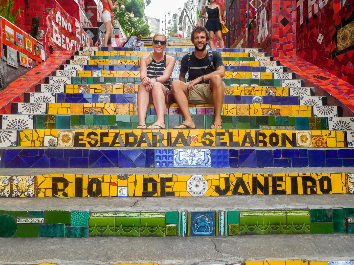 Lauren and I, Lapa steps