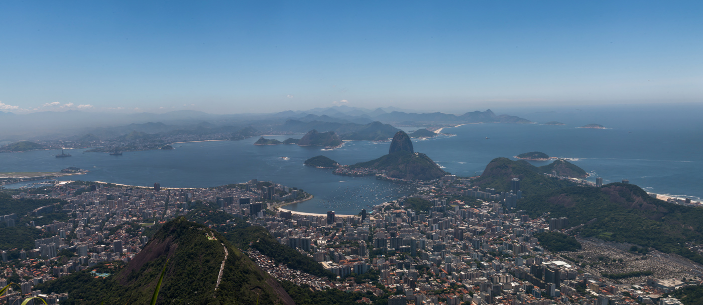 Rio as seen from Christ the Redeemer