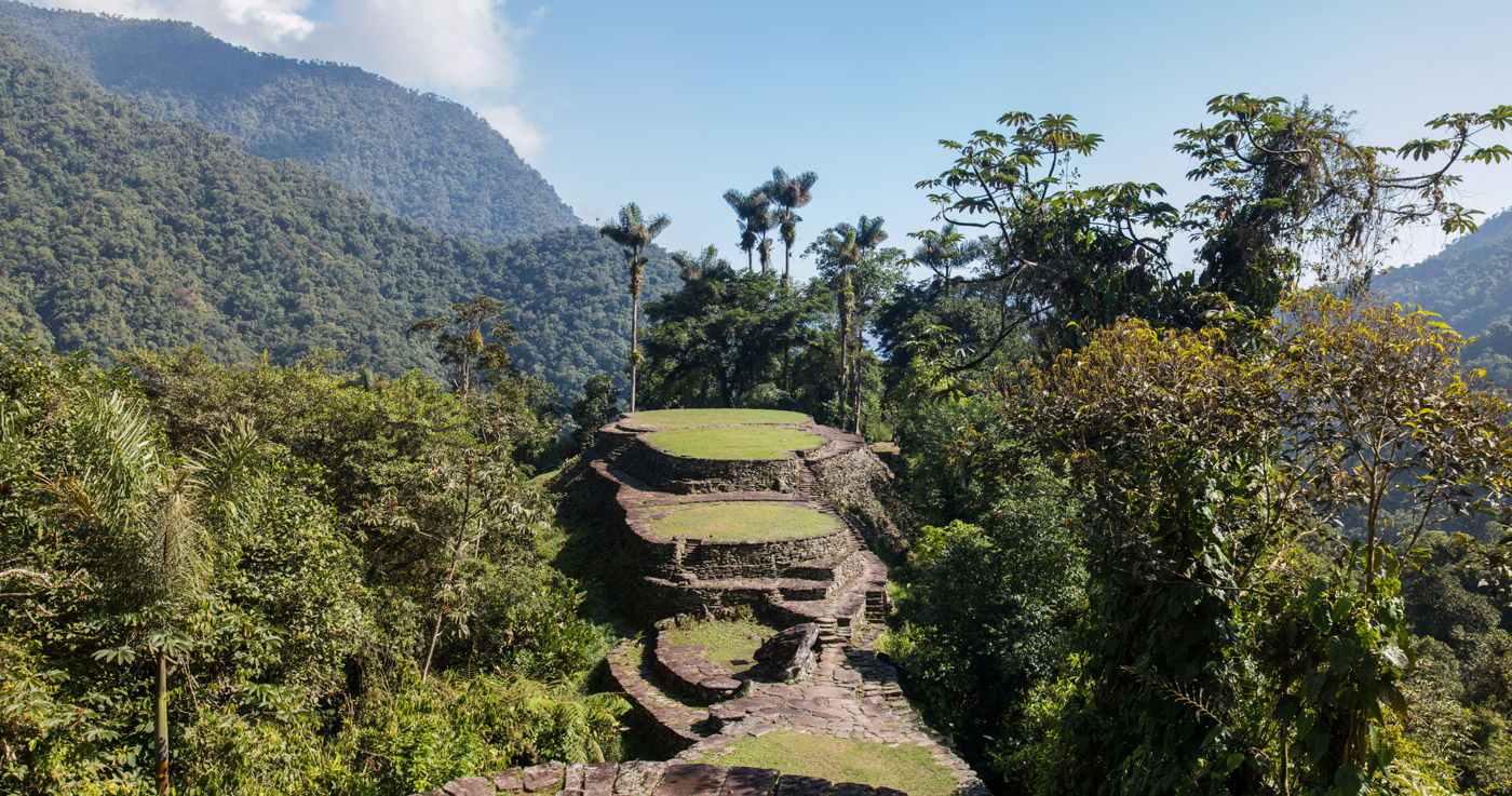 Panorama of the Lost City site