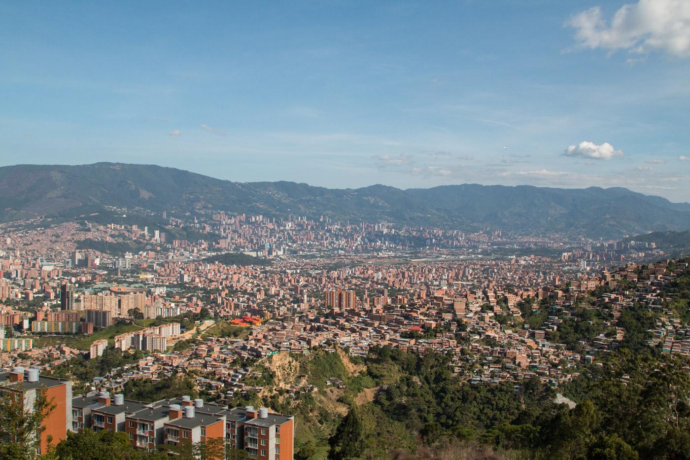 The city of Medellín