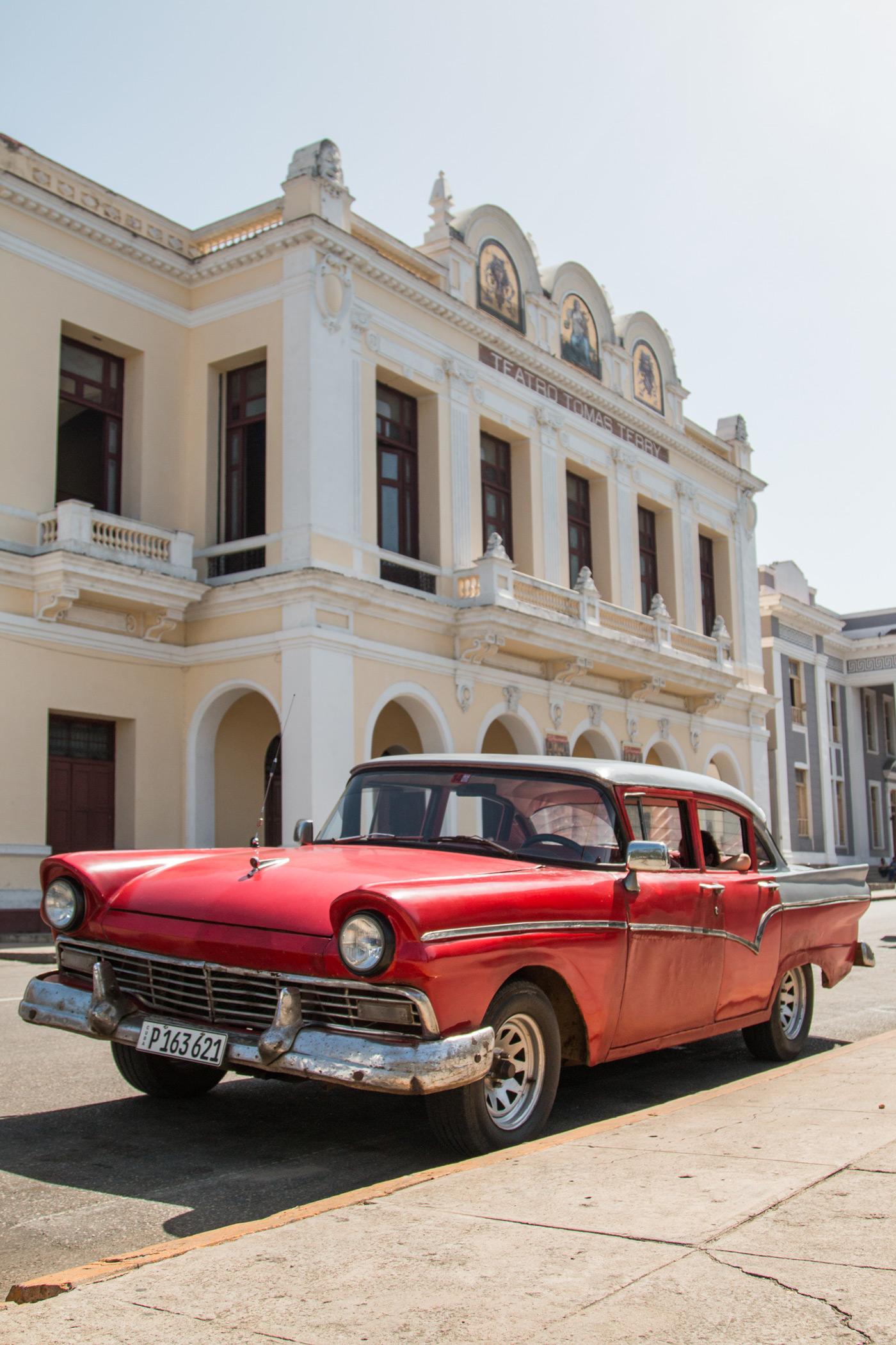 Postcard shot in Cienfuegos