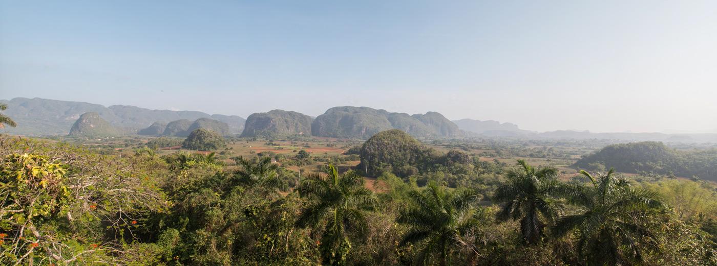 Panorama in Vinales