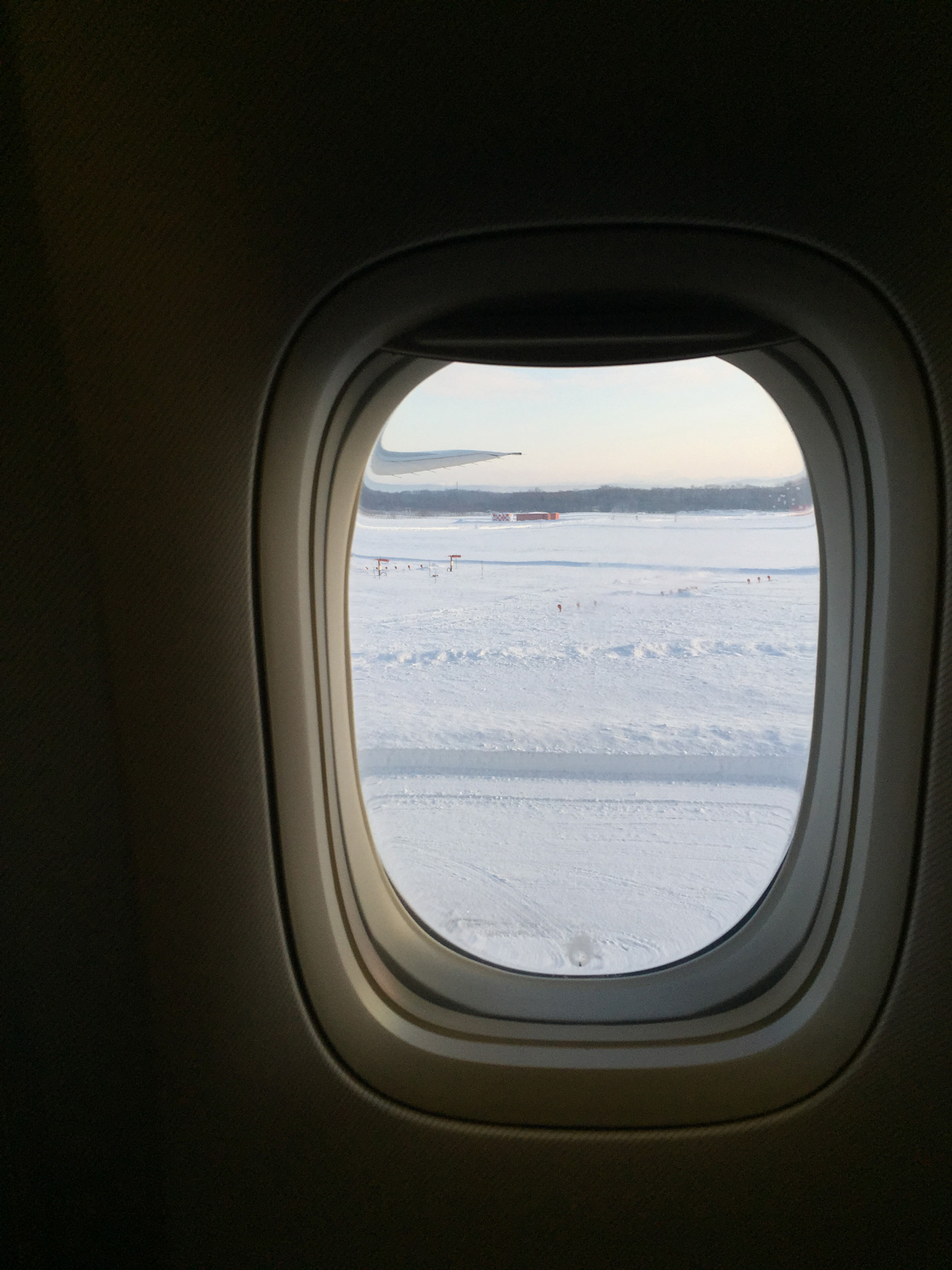 This much snow at the airport has to be a good sign