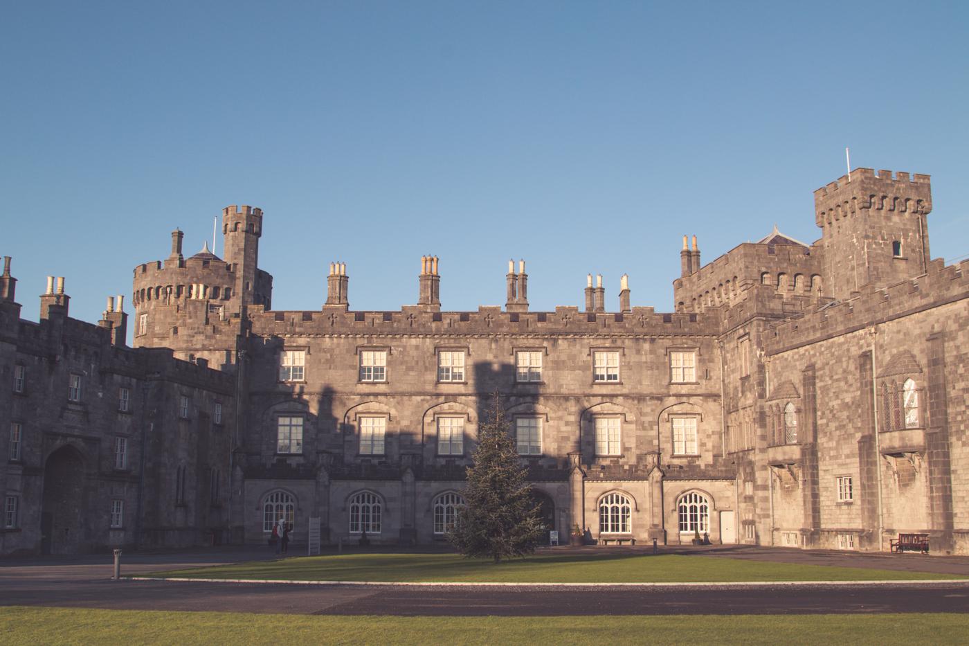 Morning light on Kilkenny Castle