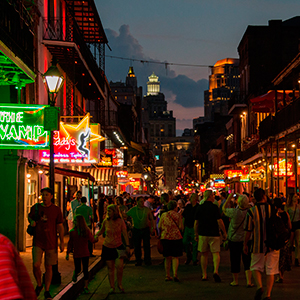 USA - New Orleans - Party, Food, Music