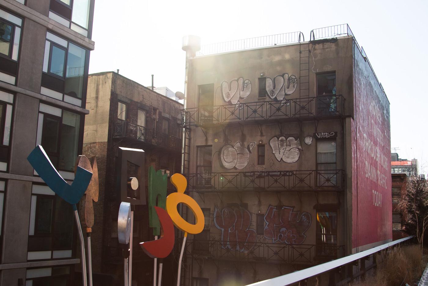 High Line light