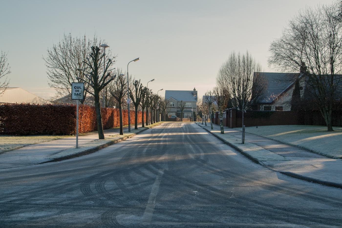 Cold Newbridge streets