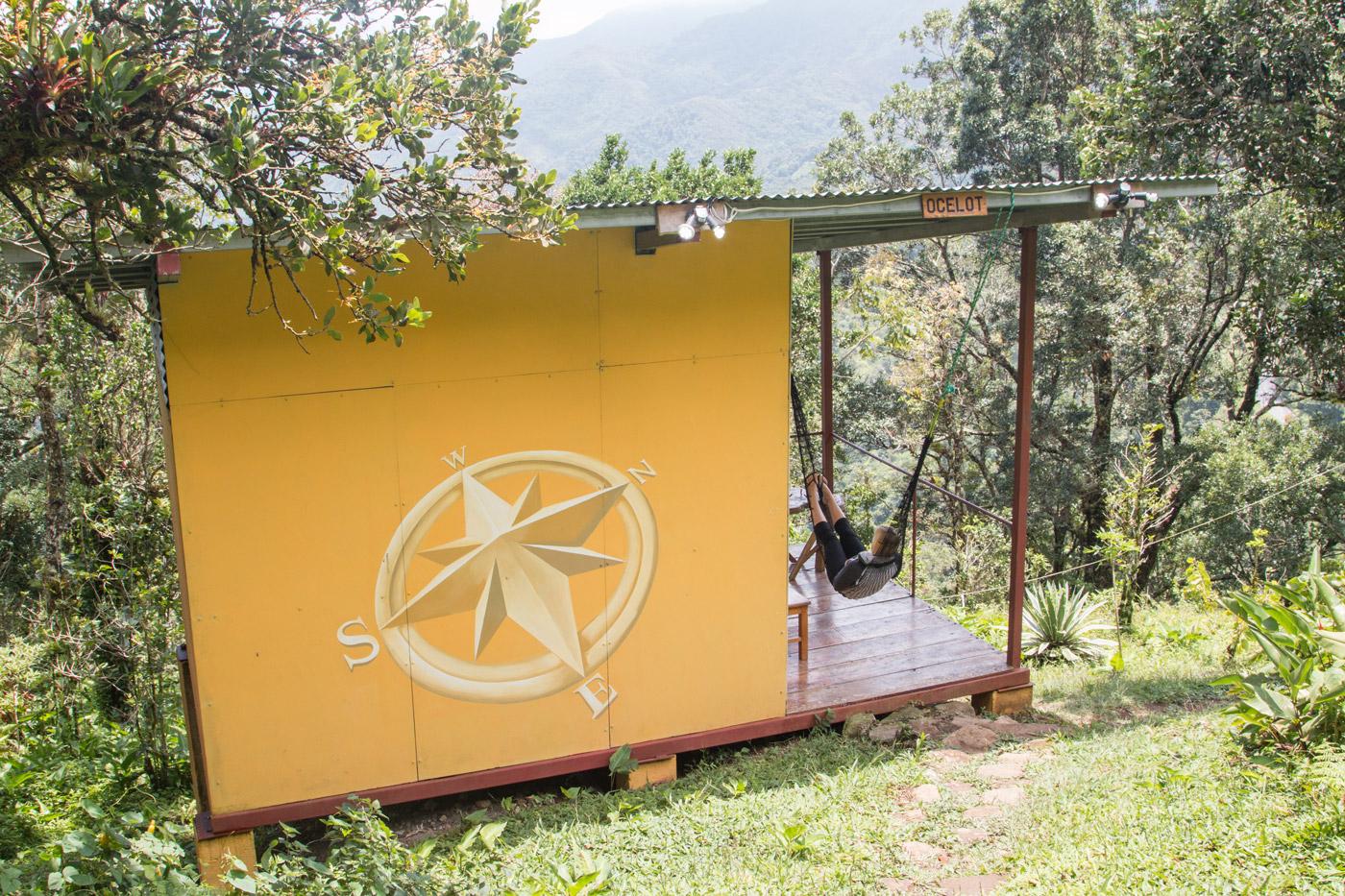 Our private cabin